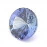 Зеленовато-синий танзанит круг вес 1.18 карат, размер 6.9х6.85мм (tanz0095)