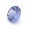 Фиолетово-синий танзанит круг вес 0.86 карат, размер 6х5.9мм (tanz0097)
