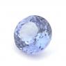 Фиолетово-синий танзанит круг вес 1 карат, размер 6.15х6мм (tanz0098)