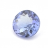 Фиолетово-синий танзанит круг вес 0.75 карат, размер 6х6мм (tanz0099)