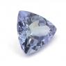 Зеленовато-синий танзанит триллион вес 1.08 карат, размер 7.3х7.1мм (tanz0102)