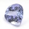 Фиолетово-синий танзанит груша вес 2.12 карат, размер 8.2х8.2мм (tanz0103)