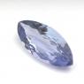 Фиолетово-синий танзанит маркиз вес 2.15 карат, размер 13.8х6мм (tanz0104)