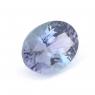 Фиолетово-синий танзанит овал, вес 1.44 карат, размер 8.2х6.2мм (tanz0123)