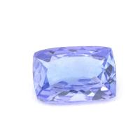Синий танзанит антик, вес 0.69 карат, размер 7х4.9мм (tanz0129)