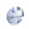 Бледный фиолетово-синий танзанит овал, вес 1.53 карат, размер 8.6х6.6мм (tanz0130)
