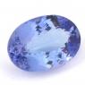 Фиолетово-синий танзанит овал, вес 8.87 карат, размер 16.1х11.3мм (tanz0134)