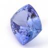 Фиолетово-синий танзанит антик, вес 11.27 карат, размер 15.2х12.2мм (tanz0136)