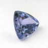 Светло-синий танзанит триллион, вес 0.95 карат, размер 6.5х6.5мм (tanz0142)