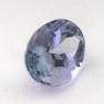 Бледно-синий танзанит овал, вес 1.73 карат, размер 8.5х6.5мм (tanz0149)