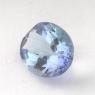 Бледный фиолетово-синий танзанит овал, вес 1.34 карат, размер 8.2х6.2мм (tanz0151)