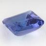 Синий танзанит квадрат, вес 3.07 карат, размер 8.5х8.5мм (tanz0154)