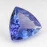 Фиолетово-синий танзанит триллион, вес 1.84 карат, размер 8.7х8.5мм (tanz0162)