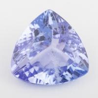 Фиолетово-синий танзанит триллион, вес 2.07 карат, размер 8.5х8.3мм (tanz0195)