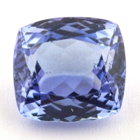 Фиолетово-синий танзанит антик, вес 5.32 карат, размер 10.3х9.6мм (tanz0216)