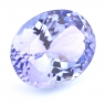 Фиолетово-синий танзанит овал, вес 4.88 карат, размер 11.9х9.3мм (tanz0217)