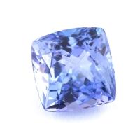 Фиолетово-синий танзанит антик, вес 2.11 карат, размер 7.2х7мм (tanz0222)