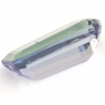 Зеленовато-синий танзанит октагон, вес 1.62 карат, размер 9.6х4.8мм (tanz0238)
