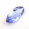 Фиолетово-синий танзанит маркиз, вес 1.36 карат, размер 12.5х5.3мм (tanz0248)