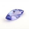 Фиолетово-синий танзанит маркиз, вес 0.7 карат, размер 10х4.6мм (tanz0250)