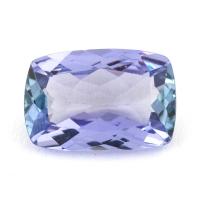 Фиолетово-синий танзанит антик, вес 1.61 карат, размер 9.2х6.2мм (tanz0254)