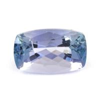 Фиолетово-синий танзанит антик, вес 1.65 карат, размер 8.8х5.5мм (tanz0255)