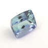 Зеленовато-синий танзанит антик, вес 1.46 карат, размер 6.6х5.6мм (tanz0257)