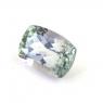Зеленовато-синий танзанит антик, вес 1.03 карат, размер 6.9х5.9мм (tanz0259)