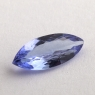 Фиолетово-синий танзанит маркиз, вес 1.38 карат, размер 12.4х5.3мм (tanz0265)