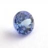 Фиолетово-синий танзанит круг, вес 0.88 карат, размер 5.6х5.6мм (tanz0270)