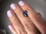 Фиолетово-синий танзанит антик, вес 2.75 карат, размер 8.5х7.6мм (tanz0293)