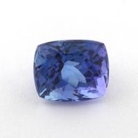 Синий танзанит антик, вес 1.91 карат, размер 7.3х6.3мм (tanz0294)