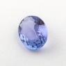 Фиолетово-синий танзанит овал, вес 1.15 карат, размер 8х6мм (tanz0297)