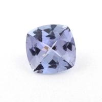 Бледный фиолетово-синий танзанит антик, вес 1 карат, размер 6.5х6.5мм (tanz0300)