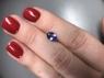Фиолетово-синий танзанит овал, вес 0.88 карат, размер 7.5х5.4мм (tanz0331)