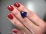 Яркий фиолетово-синий танзанит триллион, вес 10 карат, размер 13.3х13.2мм (tanz0335)