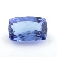 Фиолетово-синий танзанит антик, вес 2.27 карат, размер 9.8х6.3мм (tanz0412)