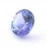 Фиолетово-синий танзанит круг, вес 0.68 карат, размер 5.9х5.8мм (tanz0431)
