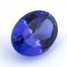 Яркий фиолетово-синий танзанит овал, вес 13.5 карат, размер 16.5х12.5мм (tanz0435)