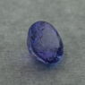 Фиолетово-синий танзанит круг, вес 1.03 карат, размер 6.1х6.1мм (tanz0469)