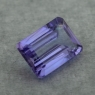 Фиолетово-синий танзанит октагон, вес 2.2 карат, размер 9х6.2мм (tanz0472)
