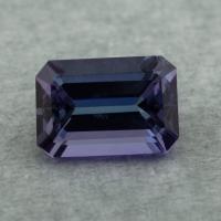 Фиолетово-синий танзанит октагон, вес 2.05 карат, размер 9.1х6.3мм (tanz0473)