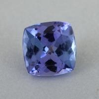 Фиолетово-синий танзанит формы антик, вес 1 карат, размер 6х6мм (tanz0485)