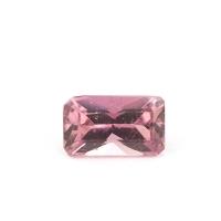 Розовый турмалин октагон вес 0.82 карат, размер 7.5х4.5мм (turm0072)