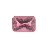 Розовый турмалин октагон вес 1.12 карат, размер 8х5.3мм (turm0074)