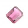 Малиновый турмалин рубеллит октагон вес 1.53 карат, размер 8.3х6.3мм (turm0094)