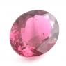 Ярко-розовый турмалин рубеллит овал вес 7.93 карат, размер 15.5х12.15мм (turm0163)