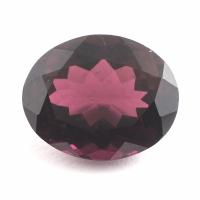 Сиренево-розовый турмалин рубеллит овал вес 7.1 карат, размер 13.5х11мм (turm0164)