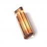 Полихромный турмалин октагон вес 4.13 карат, размер 18.6х5.35мм (turm0189)