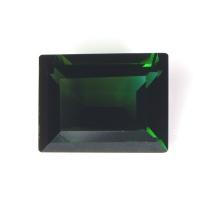 Тёмно-зелёный турмалин багет вес 2.36 карат, размер 9.3х7.1мм (turm0195)